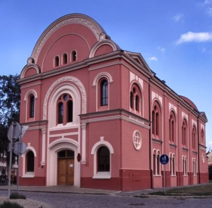 The former Jewish synagogue - the Library of Bedřich Beneš Buchlovan today.